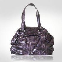 Mario Valentino Violet Cinched Handbag Photo