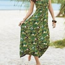 Mark by Avon Womens Tropical Print Maxi Dress - Size Xl Photo