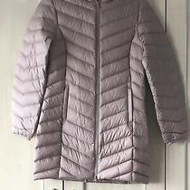 Marks & Spencer Womens Blush Pink Beige Lightweight Long Coat Size 6 Bnwt Photo