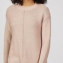 Marlawynne Textured Pullover Sweater Size Xs Blush Rrp 91.00 Photo