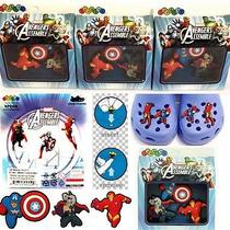 Marvel Avengers Jibbitz Crocs Shoe Charms(thorcapt. Americairon Man) - 3 Packs Photo