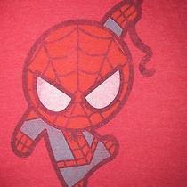 Marvel Comics Babies Spider Man Red T Shirt Sz Xl Euc Peter Parker Super Hero Photo