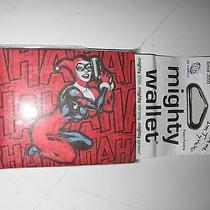 Marvel Comics Harley Quinn Previews Exclusive Bifold Mighty Wallet  Brand New Photo