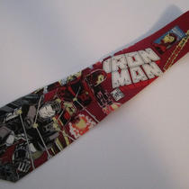 Marvel Iron Man Mens Neck Tie War Machine 291 Avengers Comic Book Photo