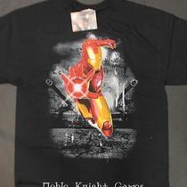 Marvel Iron Man T-Shirt Tank Theory T-Shirt (Xxl) Mint Photo