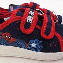 Marvel Spider-Man Boy's White/blue/red Velcro Sneakers Keds Shoes Size 11.5 Nwt Photo
