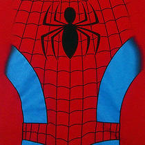 Marvel Spiderman Costume Novelty T Shirt Medium M Superhero Spidey Peter Parker Photo