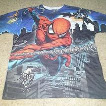 Marvel Superhero Spiderman Shirt Bnwt Xl Peter Parker Photo