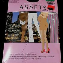 Marvelous Mama Assets by Sara Blakely Spanx Maternity Panty Hose Sz 3 Black Photo