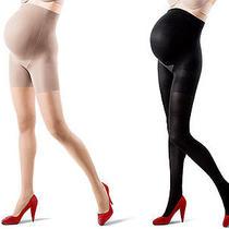 Marvelous Mama Assets Spanx Maternity Pantyhose Size 4 Photo