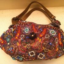 Mary Frances Handbag Beautiful Intricate Beading Hobo  Photo