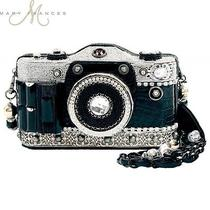 Mary Frances Handbag Snap Shot Beaded Swarovski Jeweled Purse Shoulder Bag New Photo