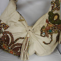 Mary Frances Hobo Style Beaded Handbag Photo