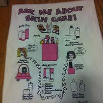 Mary Kay Ask Me About Skin Care T-Shirt Sz Med New in Bag Never Worn Pink  Photo