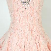 Masquerade 120 Evening Prom Formal Cruise Short Cocktail Dress Size 5 Blush Photo
