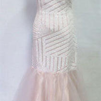 Masquerade Blush Evening Formal Prom Gown 9 - 180 Nwt Photo