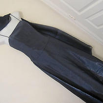 Massima Mossimo Silver Blue Evening Prom Gown Dress 2 Pc Set Corset Top Sz 11 Photo