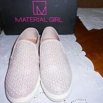 Material Girl Blush Color Sneakers With Embellishments Ecu Size 7 1/2m Photo