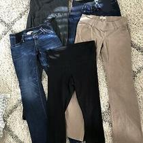 Maternity Bottoms Leggings Jeans Khakis Gap Medium 4 6 Photo