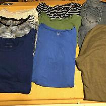 Maternity Clothes Lot of 8 Sz L & Xl Shirtsjeansleggings (Motherhoodlovegap) Photo