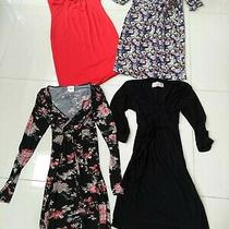 Maternity Dress Bundle M 12-14 h&m Zara Mamalicious Photo