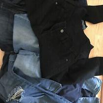 Maternity Jeans 28-29/6 Lot 6 Pieces Blue & Black Photo