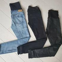 Maternity Jeans Bundle Next h&m (12 Uk- Eur 40 and 10 Uk- Eur 38) Photo