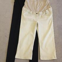 Maternity Leggings and Cropped Trousers Size 10 Jojo Maman Bebe h&m Photo
