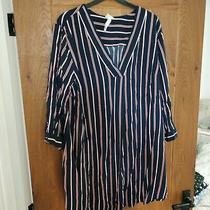 Maternity Size Large h&m Mama Shirt Dress Photo