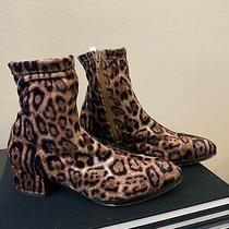 Matiko Leopard Jeanne Ankle Boots Size 36 Photo