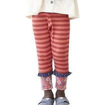 Matilda Jane Secret Fields Camilla Ribbed Leggings Sz 12 Nwt Photo