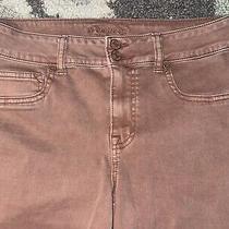 Maurices Colored Jegging Skinny Denim Jeans Blush Pink Rose M Medium-R High Rise Photo