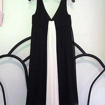 Max and Cleo Black and White Dress Size 6 Photo