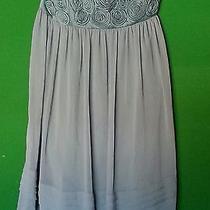 Max and Cleo Mint Green Taffeta Pleated Dress Sz. 12 Photo