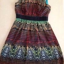Max and Cleo Multi Colored Dress Price 157 Pre-Owned Photo