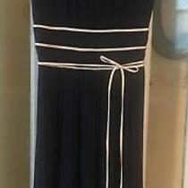 Max and Cleo Navy Blue Dress Size Small Photo