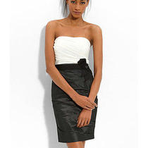 Max and Cleo - Nicely Tucked Strapless Dress Size 2 Photo