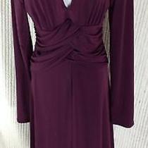 Max and Cleo Purple Dress Size M Photo