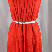 Max and Cleo Red Dress--Size  L Photo