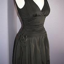 Max & Cleo Black Sleeveless Jersey & Taffeta Bubble Dress 4 Photo