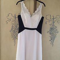 Maxandcleo  Black/white Dress Size 6 Photo