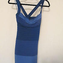 Maxandcleo Blue Fitted Dress 6 Photo