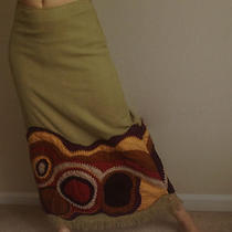 Maxi Skirt Italy (High Couture) Wool & Applications. Jean Paul Gaultier S4 Photo
