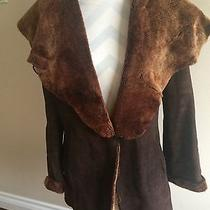 Maximilian Shearling Lamb Womens Coat Photo