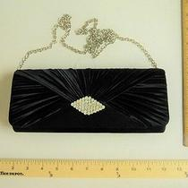 Mcclintock Black Evening Clutch Hand Bag Prom Purse - Flash Sale Photo
