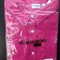 Mcdonalds Women's Manager Supervisor Dress Uniform Dress Shirt Lua Pink 3xl  Photo