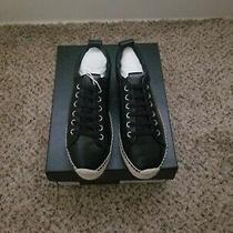 Mcq Alexander Mcqueen Leather Platform Espadrille Sneakers Size 38 Photo
