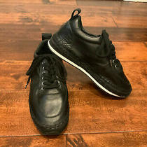 Mcq Mcqueen Black Lace-Up Leather Sneakers Size 6 (Us) 36 (It) New 435 Photo