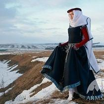 Medieval Costume  Medieval Fantasy Wool Dress