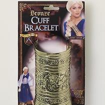 Medieval Fantasy Bronze Costume Cuff Bracelet Photo